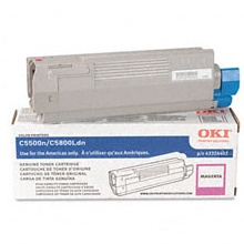 Genuine Okidata 43324402 Magenta Toner Cartridge