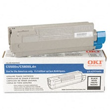 Genuine Okidata 43324404 Black Toner Cartridge