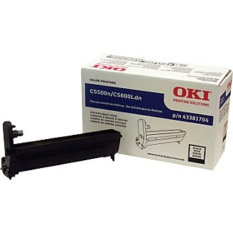 Genuine Okidata 43381704 Black Image Drum