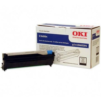 Genuine Okidata 43460204 Black Image Drum
