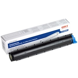 Genuine Okidata 43640301 Black Toner Cartridge