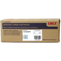 43865767 Toner Cartridge - Okidata Genuine OEM (Cyan)