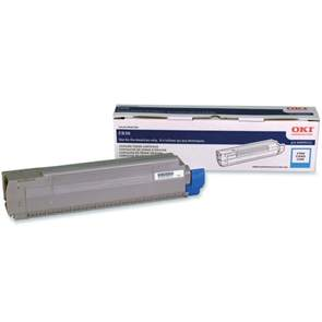 44059111 Toner Cartridge - Okidata Genuine OEM (Cyan)