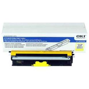 Genuine Okidata 44250713 Yellow Toner Cartridge