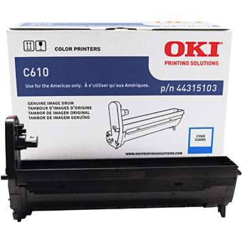 Genuine Okidata 44315103 Cyan Imaging Drum