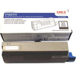44318604 Toner Cartridge - Okidata Genuine OEM (Black)