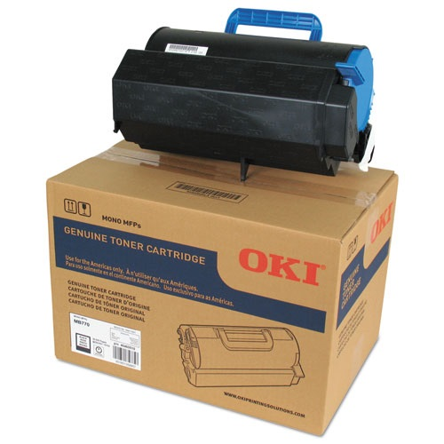 45460510 Toner Cartridge - Okidata Genuine OEM (Black)