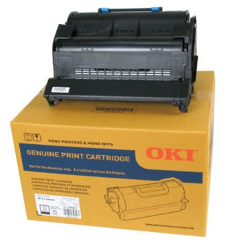 Genuine Okidata 45488801 Black Toner Cartridge
