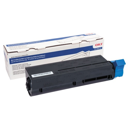 45807101 Toner Cartridge - Okidata Genuine OEM (Black)