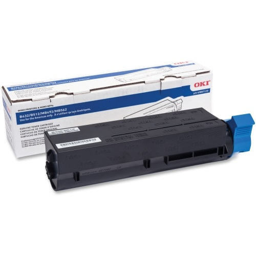 45807110 Toner Cartridge - Okidata Genuine OEM (Black)