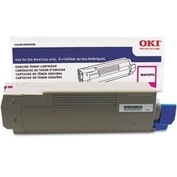 52123702 Toner Cartridge - Okidata Genuine OEM (Magenta)