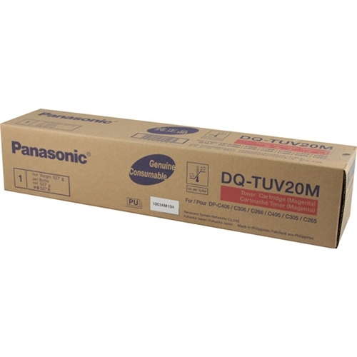 Genuine Panasonic DQ-TUV20M Magenta Toner Cartridge