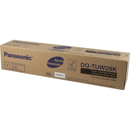 Genuine Panasonic DQ-TUW28K Black Toner Cartridge