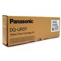 Genuine Panasonic DQ-UR3Y Yellow Toner Cartridge