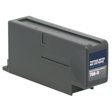 Compatible Pitney Bowes 766-8 Red Ink Cartridge