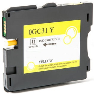 Compatible Ricoh 405691 Yellow Ink Cartridge