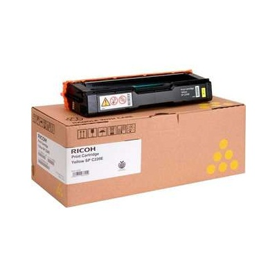 Genuine Ricoh 406044 Yellow Toner Cartridge
