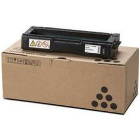 Ricoh 406344 Toner Cartridge - Ricoh Genuine OEM (Black)