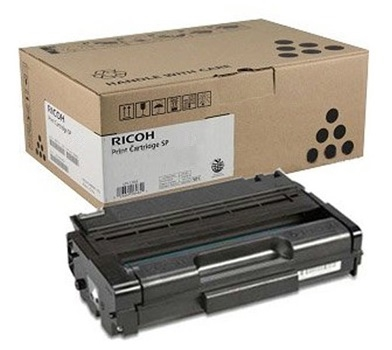 Genuine Ricoh 406465 Black Toner Cartridge