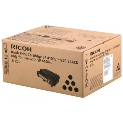 Genuine Ricoh 407010 Black Toner Cartridge