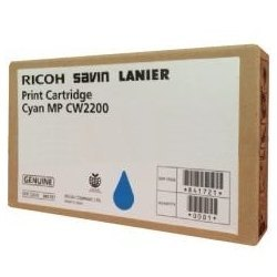 Genuine Ricoh 841721 Cyan Ink Cartridge