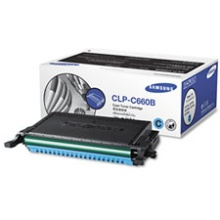 CLP-C660B Toner Cartridge - Samsung Genuine OEM (Cyan)