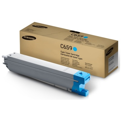Genuine Samsung CLT-C659S Cyan Toner Cartridge