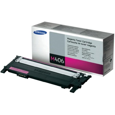 CLT-M406S Toner Cartridge - Samsung Genuine OEM (Magenta)