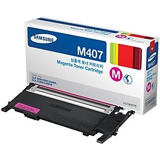 CLT-M407S Toner Cartridge - Samsung Genuine OEM (Magenta)