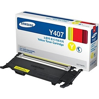 CLT-Y407S Toner Cartridge - Samsung Genuine OEM (Yellow)