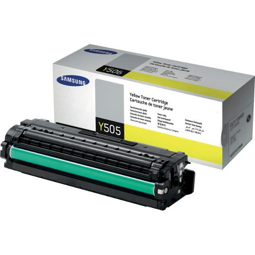 CLT-Y505L Toner Cartridge - Samsung Genuine OEM (Yellow)