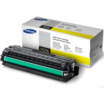 CLT-Y506S Toner Cartridge - Samsung Genuine OEM (Yellow)
