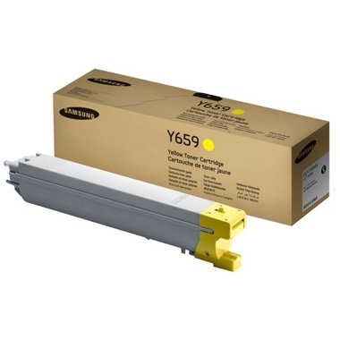 Genuine Samsung CLT-Y659S Yellow Toner Cartridge