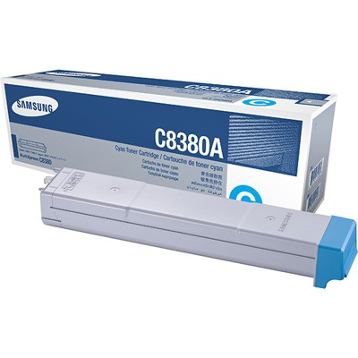 Genuine Samsung CLX-C8380A Cyan Toner Cartridge