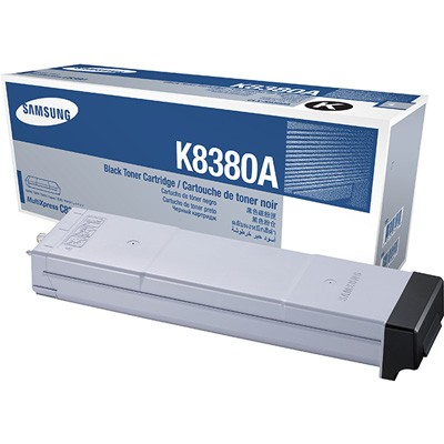 Genuine Samsung CLX-K8380A Black Toner Cartridge