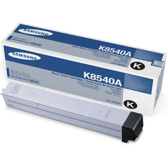 Genuine Samsung CLX-K8540A Black Toner Cartridge