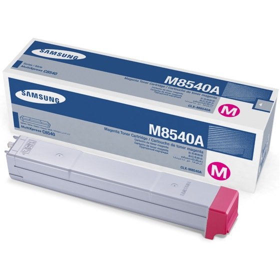 Genuine Samsung CLX-M8540A Magenta Toner Cartridge