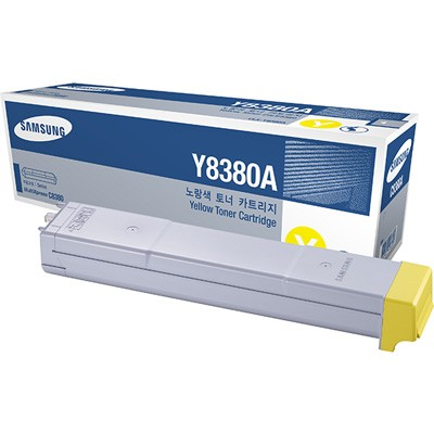 Genuine Samsung CLX-Y8380A Yellow Toner Cartridge