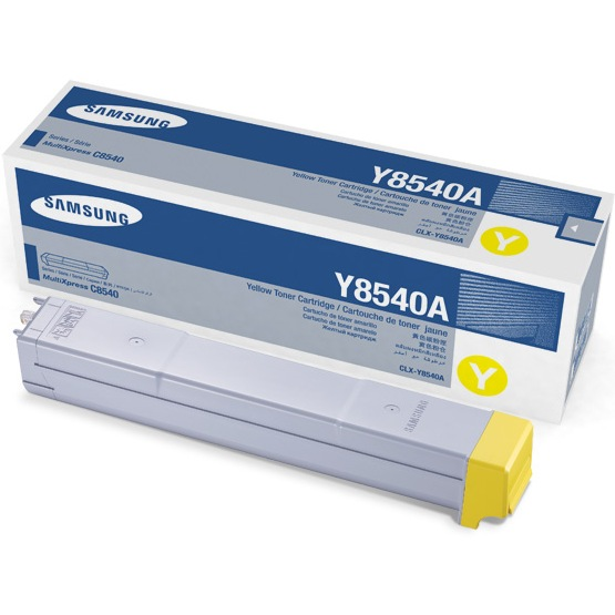 Genuine Samsung CLX-Y8540A Yellow Toner Cartridge
