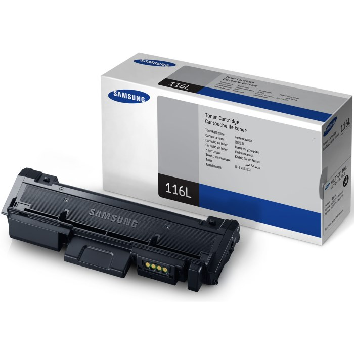 Genuine Samsung MLT-D116L Black Toner Cartridge