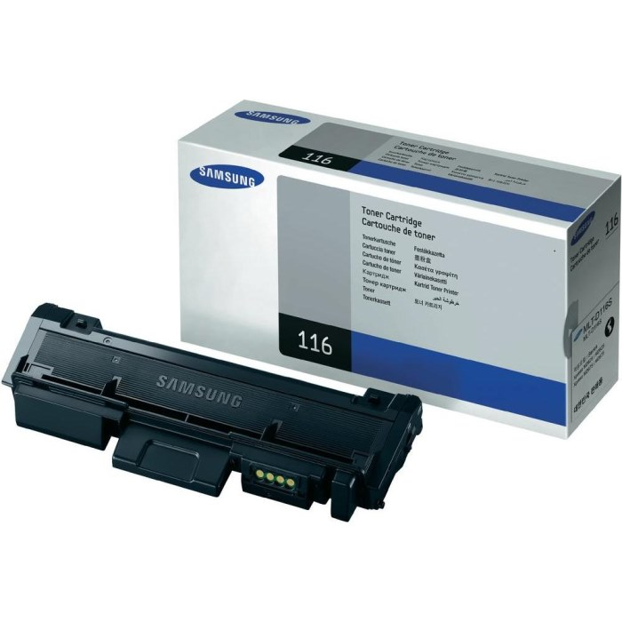 Genuine Samsung MLT-D116S Black Toner Cartridge