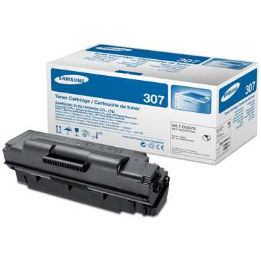 Genuine Samsung MLT-D307E Black Toner Cartridge