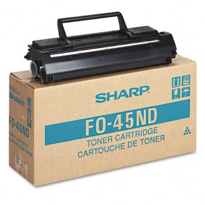 Genuine Sharp FO-45ND Black Toner Cartridge