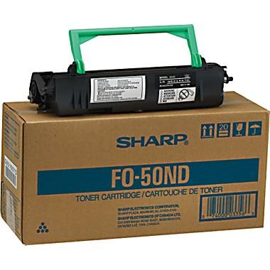 Genuine Sharp FO-50ND Black Toner Cartridge
