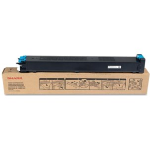 MX-27NTCA Toner Cartridge - Sharp Genuine OEM (Cyan)