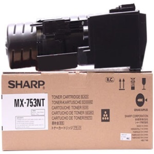 Genuine Sharp MX-753NT Black Toner Cartridge