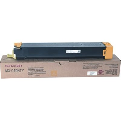 Genuine Sharp MX-C40NTY Yellow Toner Cartridge