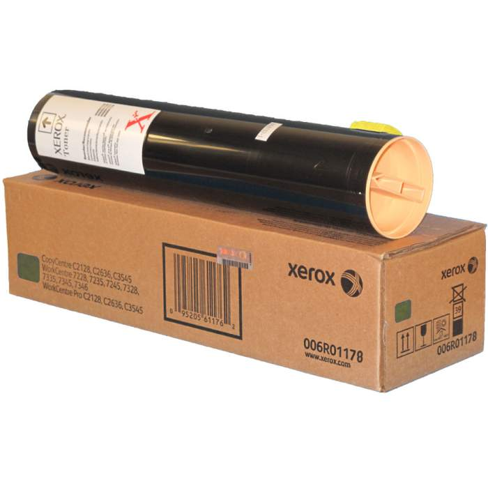 006R01178 Toner Cartridge - Xerox Genuine OEM (Yellow)