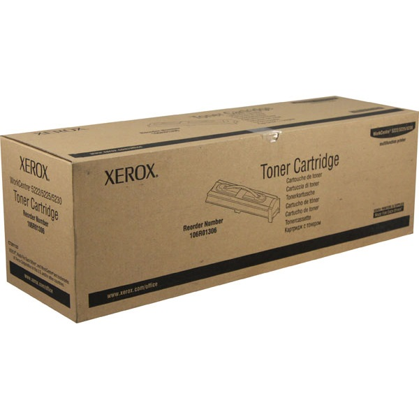 106R01306 Toner Cartridge - Xerox Genuine OEM (Black)