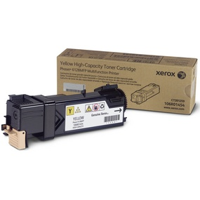 Genuine Xerox 106R01454 Yellow Toner Cartridge